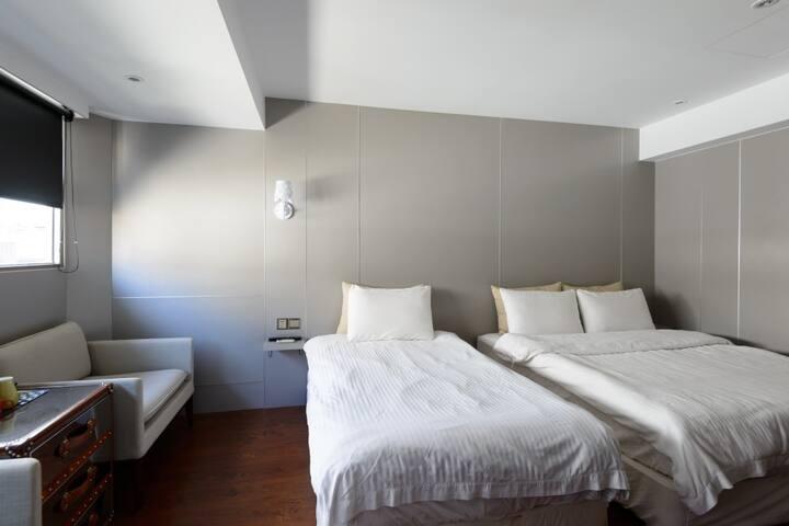 台北Triple room zhongshan dist