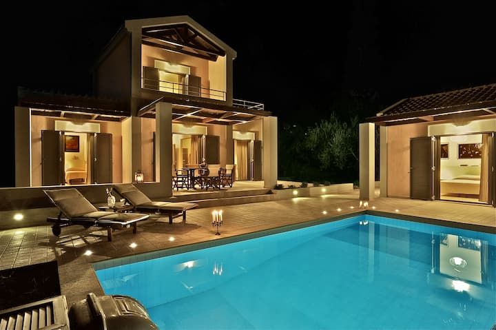 Three-bedroom luxury villa near Argostoli