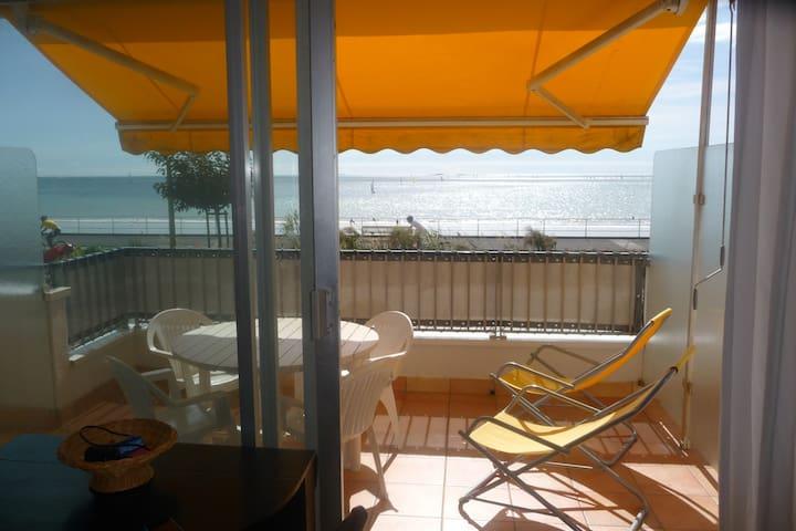 T1 en front de mer avec terrasse - La Baule-Escoublac - อพาร์ทเมนท์