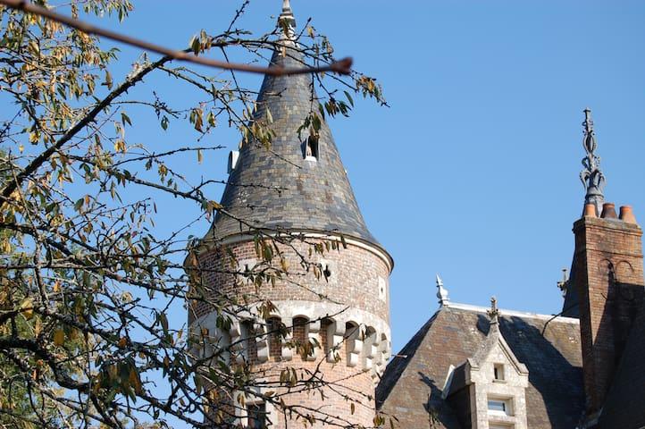 Family Castle in French Countryside - La Bazoche-Gouet - Castle