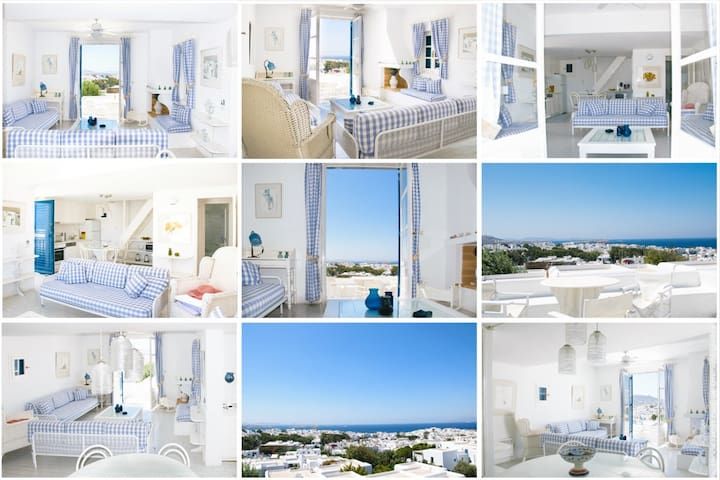 Beautiful House with amazing view in  Mykonos Town - Míkonos - Casa