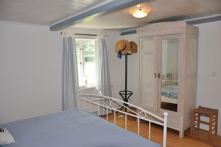 Schlafzimmer Reetdachkate