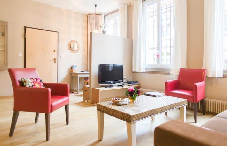 PORT et MER   gîte spacieux  chaleureux  JACUZZI - Fécamp - Apartment