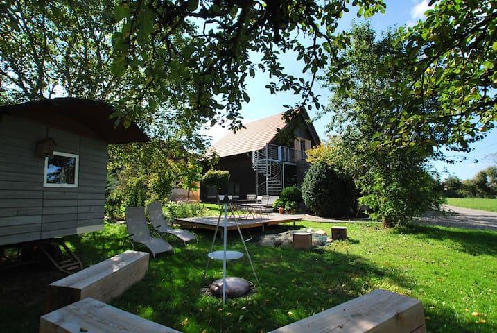 Landleben für Schöngeister I Nähe Bodensee - Deggenhausertal - Apartamento