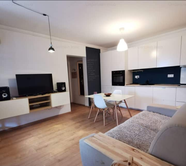 Beautiful and cosy studio loft near Afi Cotroceni