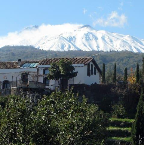 Etnalodge, tra il Mar Ionio e il Vulcano Etna.