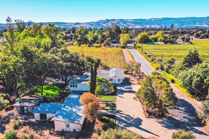 'Vintara' Sonoma House, 10 acres -Newly renovated!