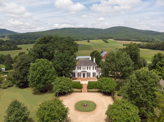 Ben Coolyn Farm | Architectural Digest Featured Vineyard Estate 6 Miles from Downtown Charlottesville