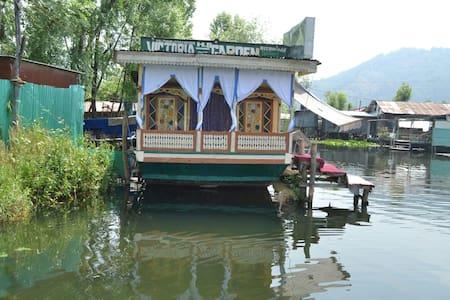 Victoria Garden House Boat Gate (7) - Srinagar