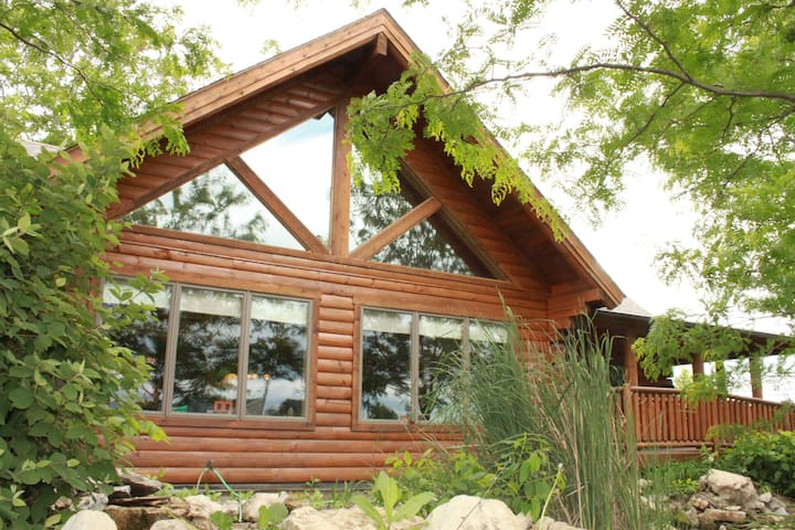 Not your Mother's Log Cabin!