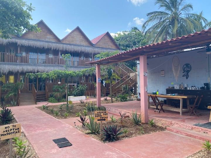Bacalar Mayan Caribe  2 centro 100m de la Laguna