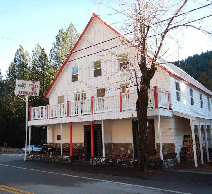 Old Sierra City Hotel room #6