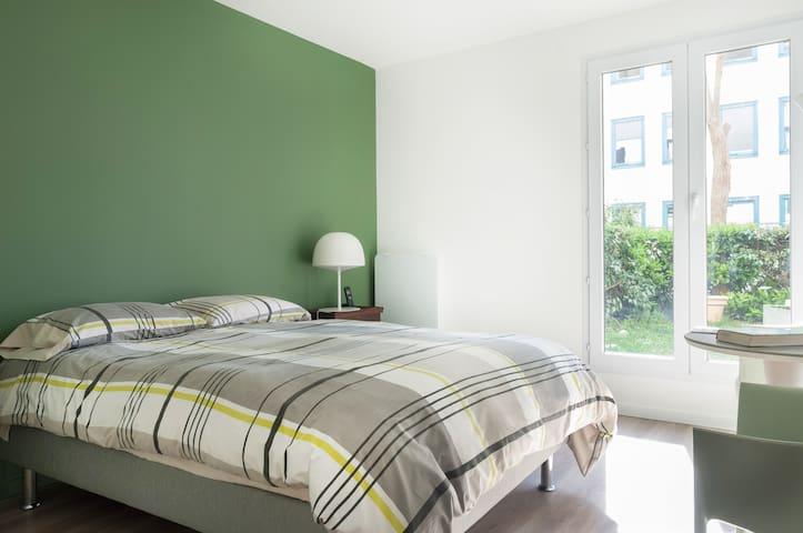 Au calme à Rueil à 15' de Paris, 3 pièces, jardin - Rueil-Malmaison - Appartement