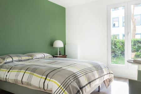 Au calme à Rueil à 15' de Paris, 3 pièces, jardin - Rueil-Malmaison - Wohnung