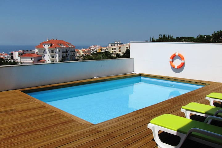 Studio with terrace and Swimming Pool - Ericeira - Apartment
