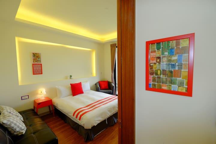 BIGNOSEINN大鼻旅店-四樓雙人房