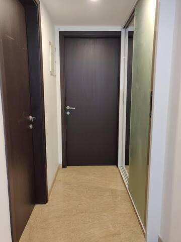 Hallway to your Bedroom
