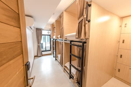 Naratel Hostel Bangkok(Bunkbed in 6 bed MixedDorm)