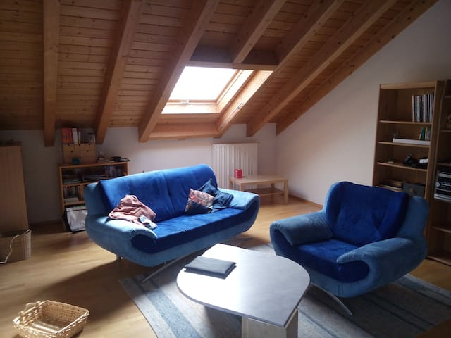 Großes helles Zimmer mit Bad - Eppingen