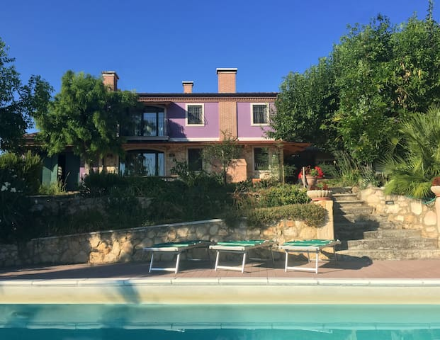 Vineyard Villa with swimming pool  - Vicenza Hills