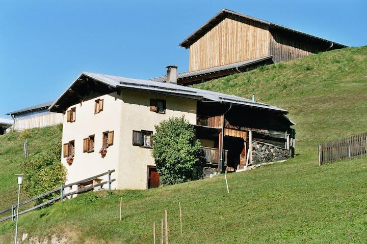 Ferienhaus Brün, altes Walsehaus - Valendas - Σπίτι