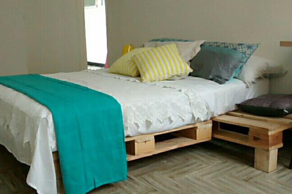 Habitación fresca y cómoda.