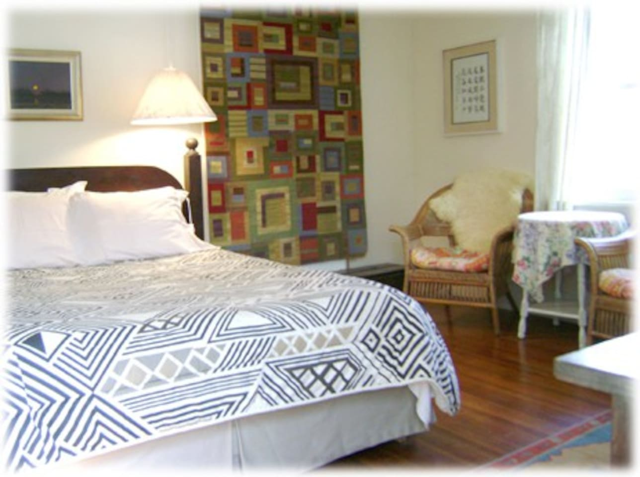private room in bed and breakfast morning glory bnb Woodstock south room