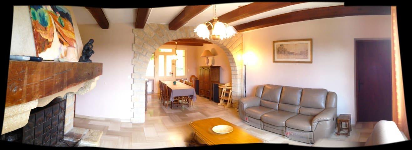 Provence : mooie villa met zwembad - Villedieu - Villa