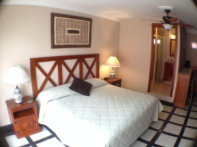 Suite w/ kitchenette-Puebla Centro - Puebla - Huis