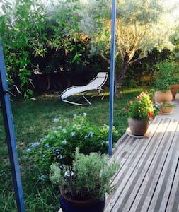 Studio privé juxtaposant une villa - Lavérune