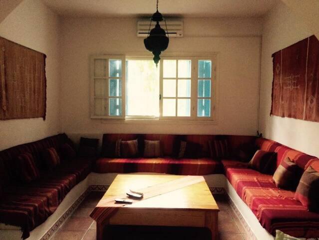 Villa Sidi-Bou près de la mer Korba