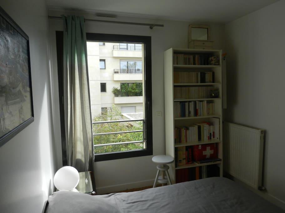 Chambre et sdb priv e paris xv me appartements louer - Interieur appartement original et ultra moderne a paris ...