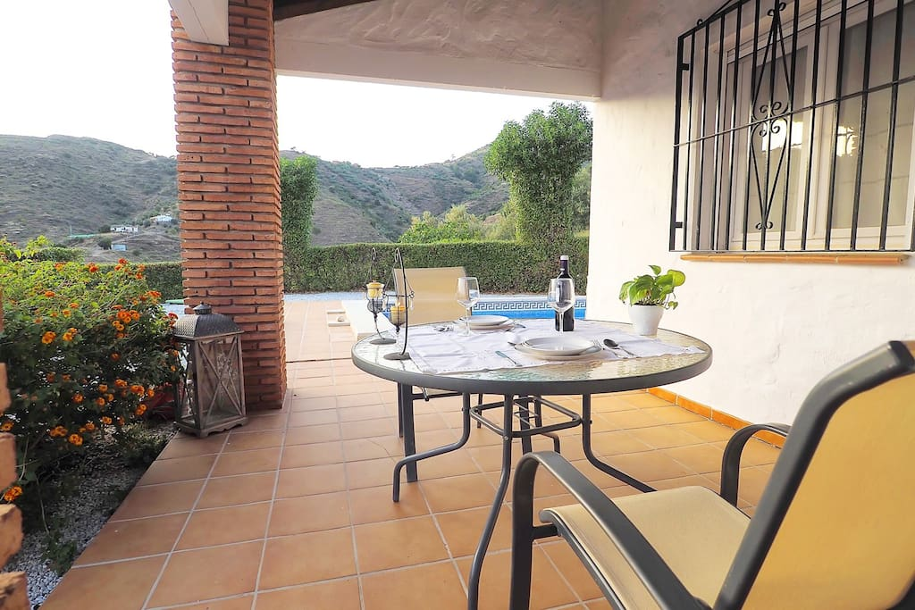 Maison avec piscine soleada maisons louer arenas - Maison avec piscine espagne ...