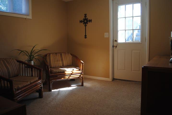 Quiet and bright basement apartment