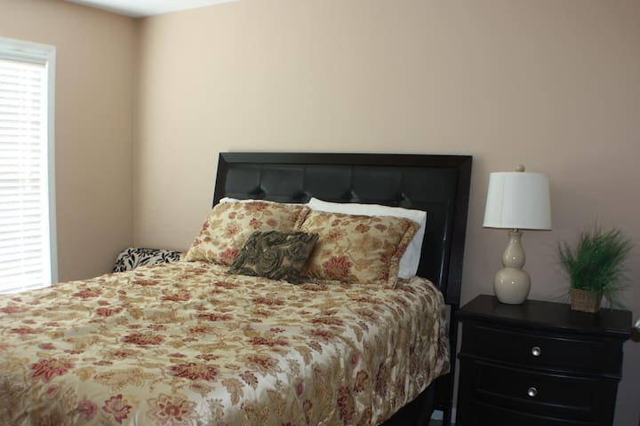 Bedroom #2 with a queen size bed