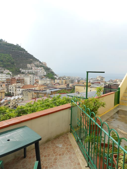 Terrazzo con vista mare e limoneto (sea and Lemon of Amalfi Coast)