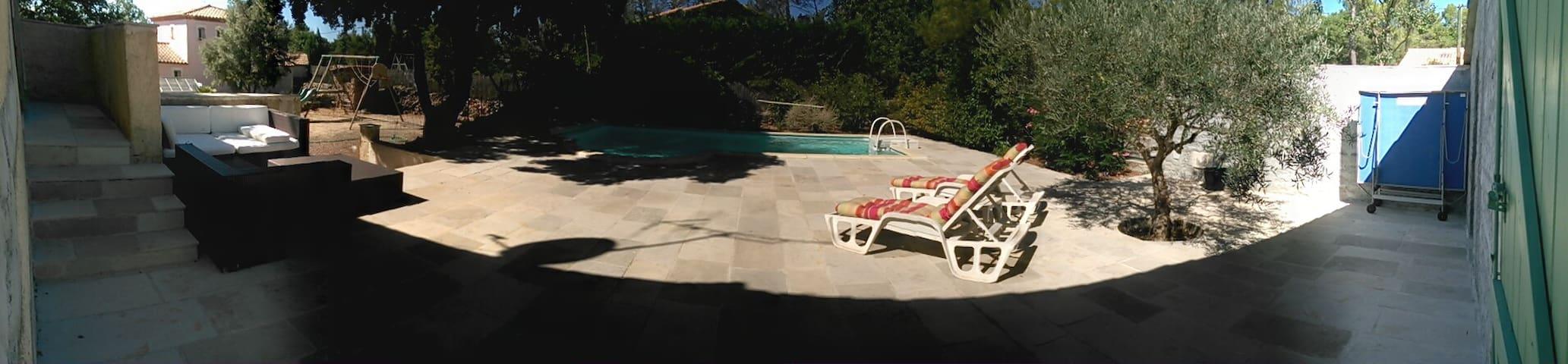 Suite parentale dans villa calme - Garéoult