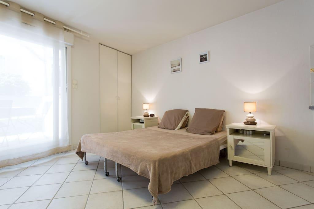 Le côté lit - The sleeping corner