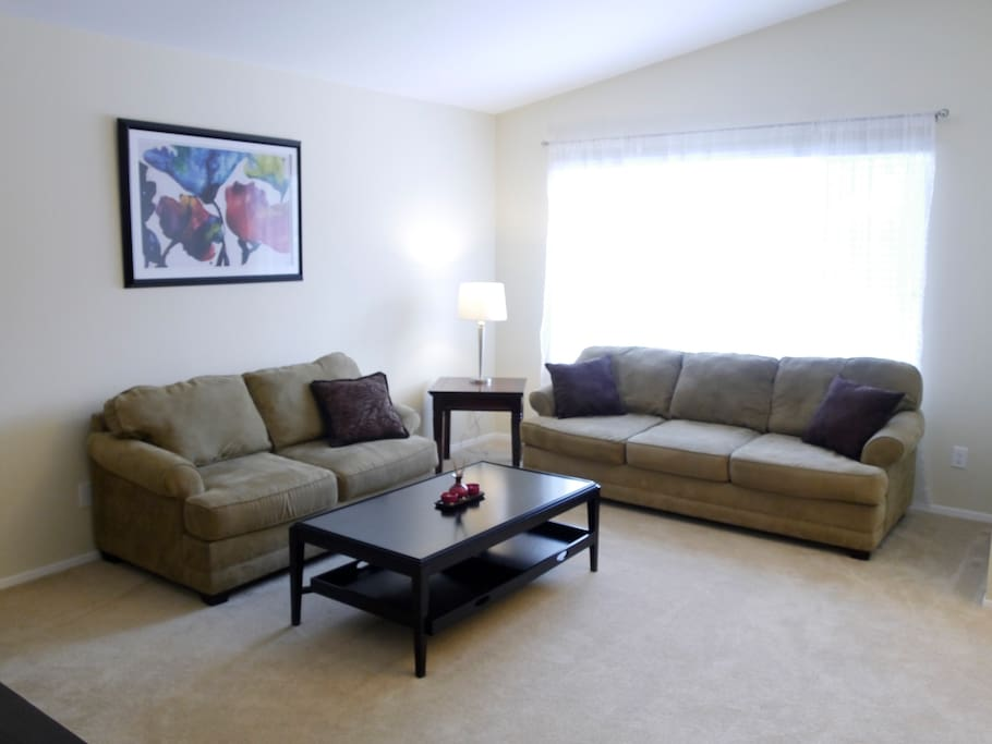 Lounge In The Livingroom On These Super Comfy Couches From Bloomingdales