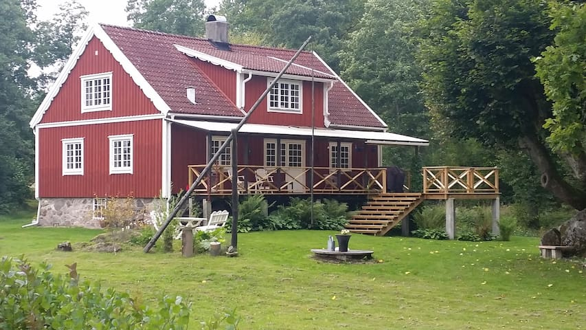 Lovely house next to the river - Älmhult NV