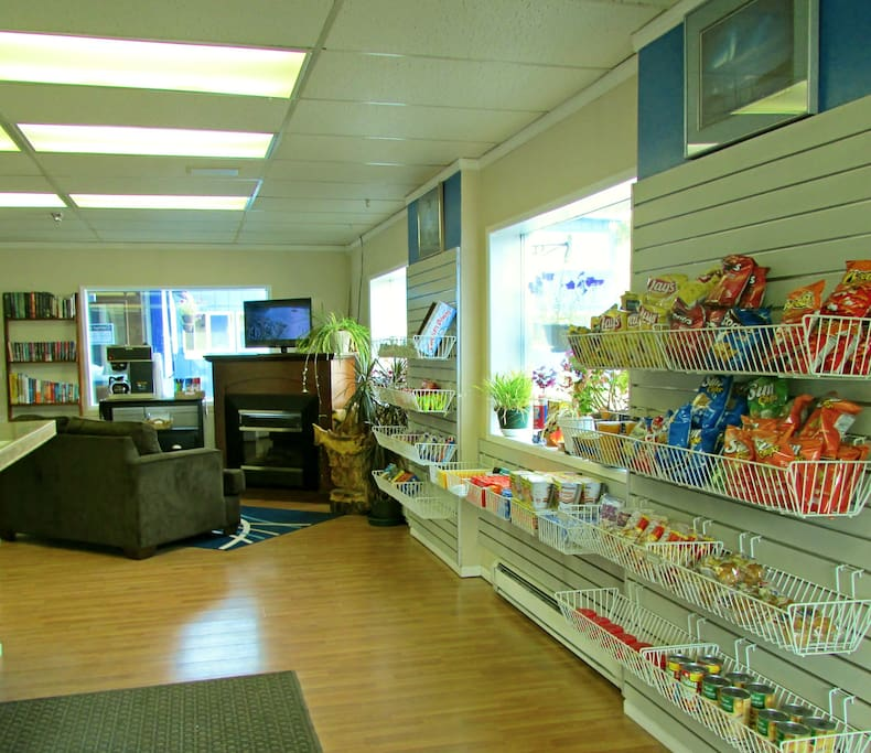 Our lobby shop has everything you need.