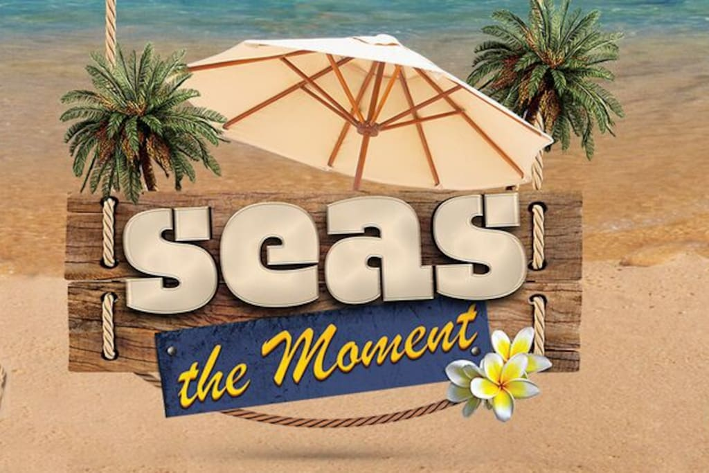 "Welcome to Seas the Moment, in Perla Marina, Domincan Republic. May your time here be memorable and one where you will ""seas the moment"""