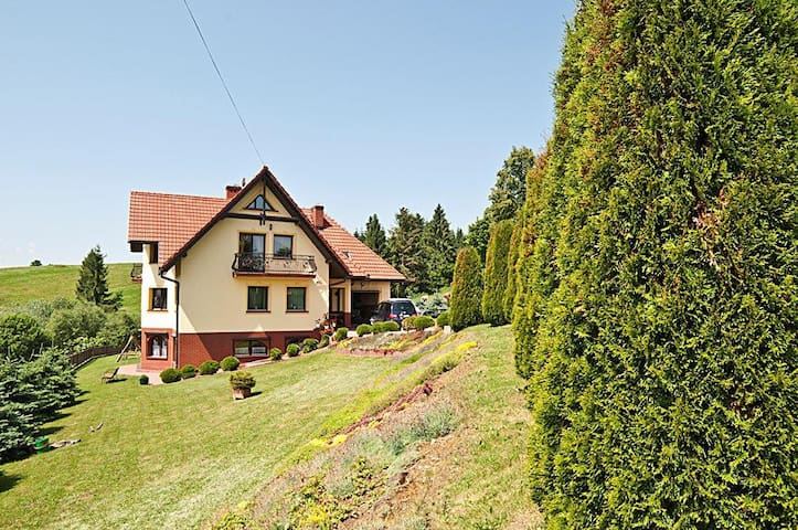 Guest rooms panoramic view Tatra II - Ciche - Byt