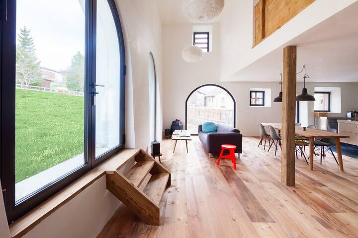 Luxuriöser, neu ausgebauter Stall - Ardez - Hus
