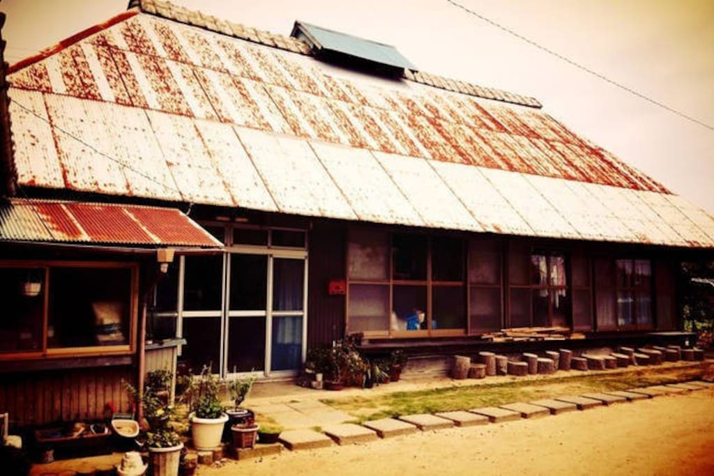 our traditional folk house over 250 years 築250年享保時代の伝統的な古民家