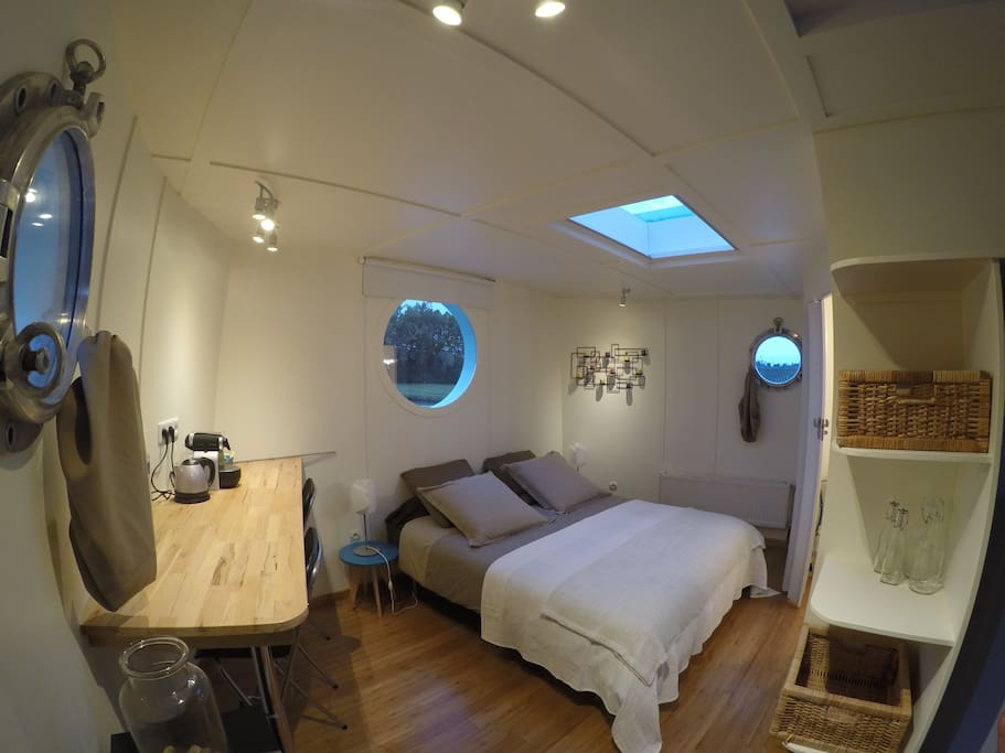 Chambre d 39 h tes sur une p niche boten te huur in for Chambre d hotes frankrijk