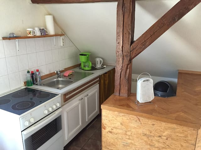 Schöne Ferienwohnung in Sternberg - Sternberg - Apartamento
