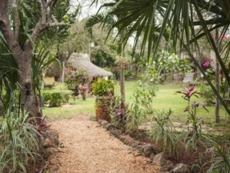Los jardines de Kaab Na dan felicidad al alma