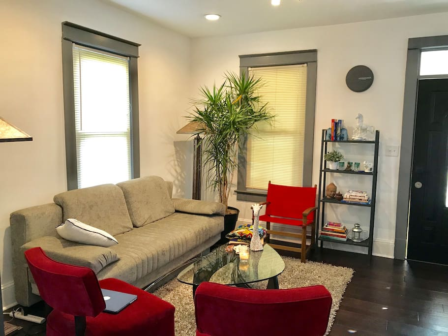 A living room  share with hosts