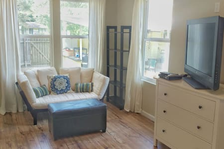Charming Mid-city Studio Cottage - Baton Rouge - Casa